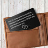 TINY CA5001 - ENGRAVED WALLET CARD - AND I'D CHOOSE YOU