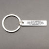 TINY KC1048 - To My Husband Drive SAFE I LOVE YOU THEN - Keychain