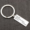 TINY KC1065 - I NEED YOU HERE WITH ME - YOUR PRINCESS KEYCHAIN