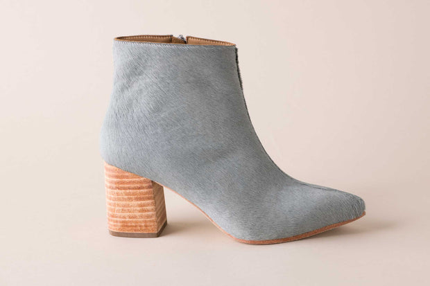 Huma Blanco Vania Boot in Grey Calf Hair