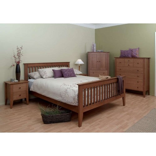 Kensington Queen Bed with Matching Foot-End