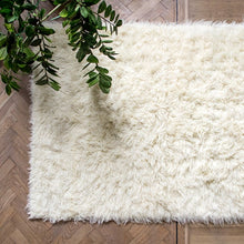 Load image into Gallery viewer, big white fluffy rug