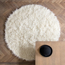Load image into Gallery viewer, large white sheepskin rug