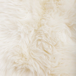 sheep pelt rug