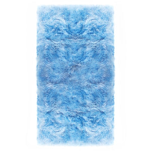 coloured sheepskin rugs