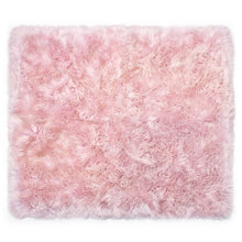 Load image into Gallery viewer, plush pink rug