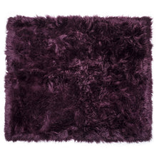 Load image into Gallery viewer, plum sheepskin rug