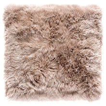 Load image into Gallery viewer, light brown sheepskin rug