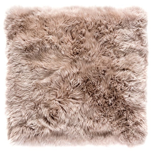 light brown sheepskin rug