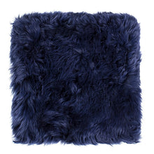 Load image into Gallery viewer, square sheepskin seat pad