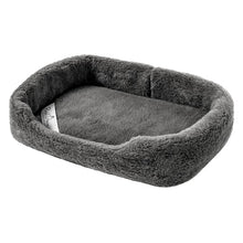 Load image into Gallery viewer, grey dog bed