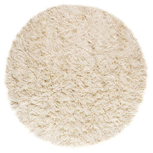 Load image into Gallery viewer, large white shag rug