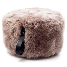Load image into Gallery viewer, sheepskin pouf
