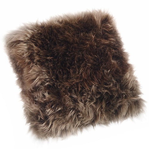 large sheepskin cushions
