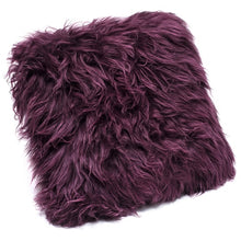 Load image into Gallery viewer, real sheepskin cushions