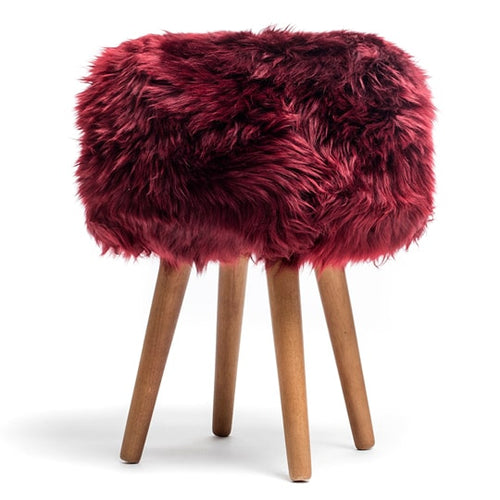 royal dream sheepskin stool