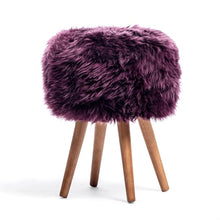 Load image into Gallery viewer, lambskin stool