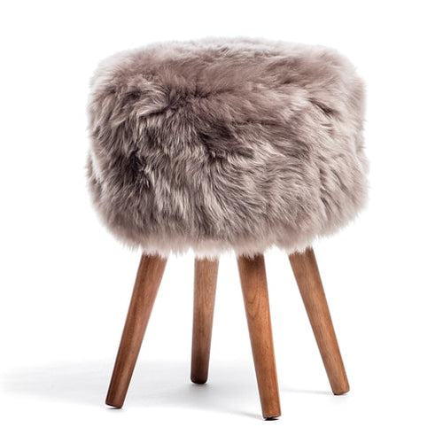 light fluffy stool
