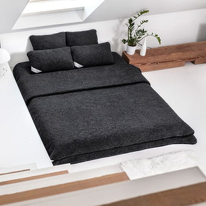 black wool blanket