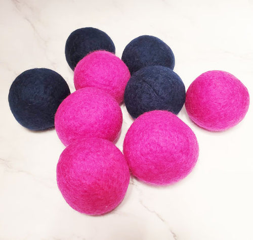 Wool Dryer Balls Handmade by Refill Road
