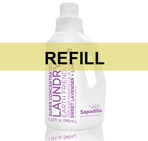 Sapadilla Laundry Liquid Sweet Lavender + Lime