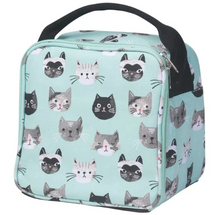 Load image into Gallery viewer, Let's Do Lunch Bag, Cats Meow