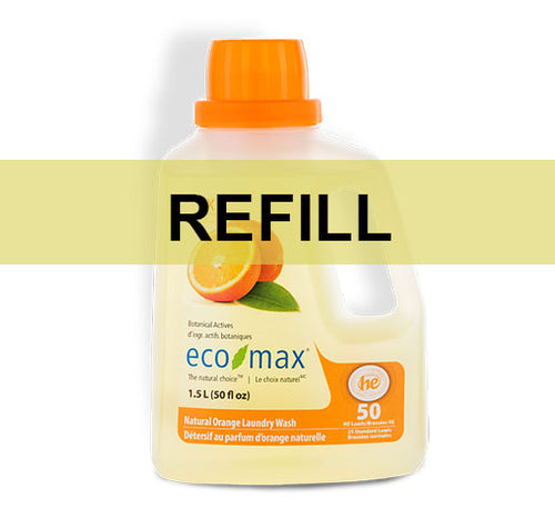 Eco-Max Natural Orange Laundry Wash