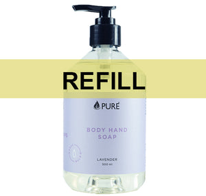 Body & Hand Soap | Green Tea | Almond Blossom | Lavender by Pure