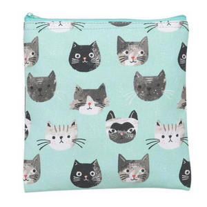 SNACK BAGS (SET OF 2) CAT'S MEOW