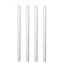 "Load image into Gallery viewer, Skinny 8"" 9.5mm Glass Drinking Straws"