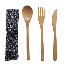 Load image into Gallery viewer, Bamboo Zero Waste Utensils