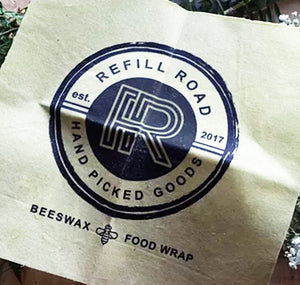Beeswax Food Wrap | Refill Road Logo
