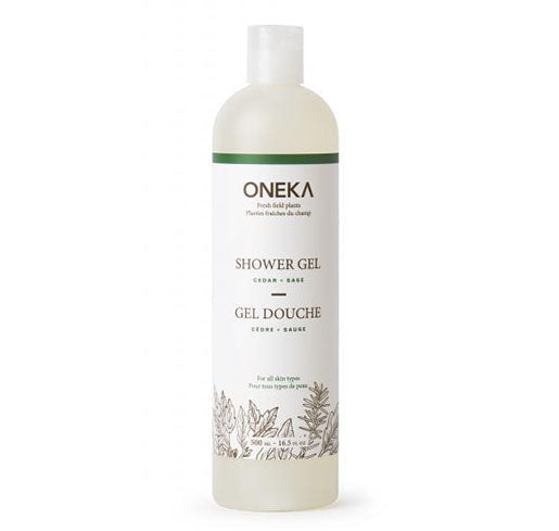 ONEKA | Cedar & Sage Shower Gel 500ml