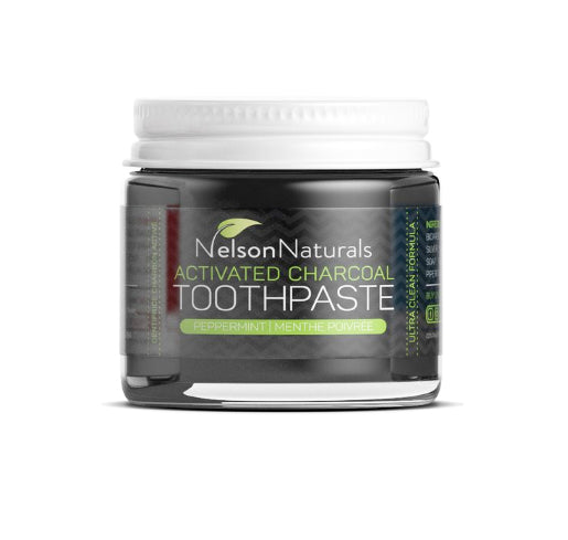 Nelson Naturals Activated Charcoal Toothpaste 30ml