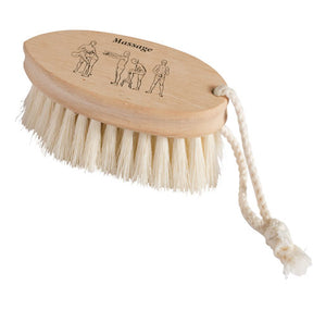 Dry massage brush