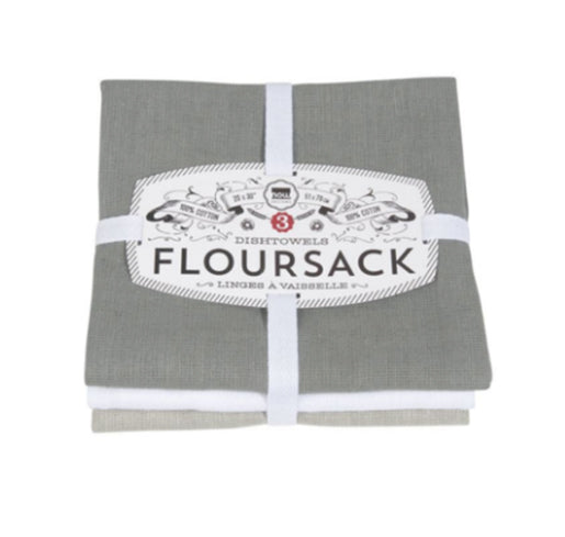 Floursack Kitchen Towels Set of Three