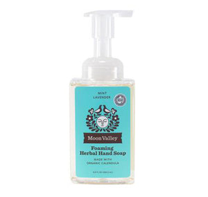 Moon Valley Organics | Foaming Herbal Hand Soap Mint lavender