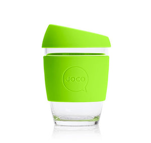 JOCO - Reusable Glass Cup - Lime