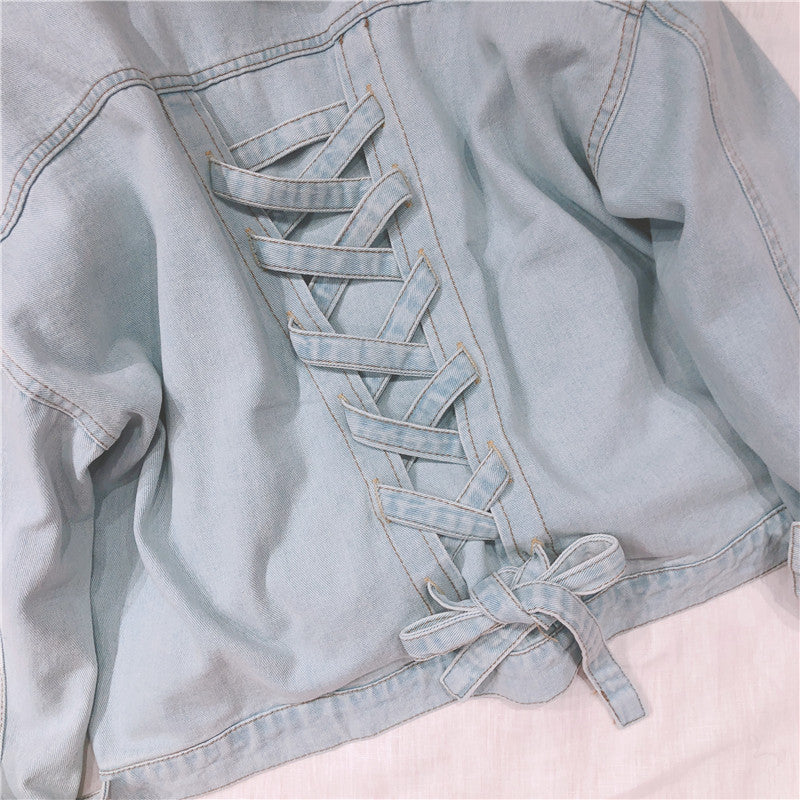 2019 NEW BF STYLE RETRO DENIM COAT BY24016