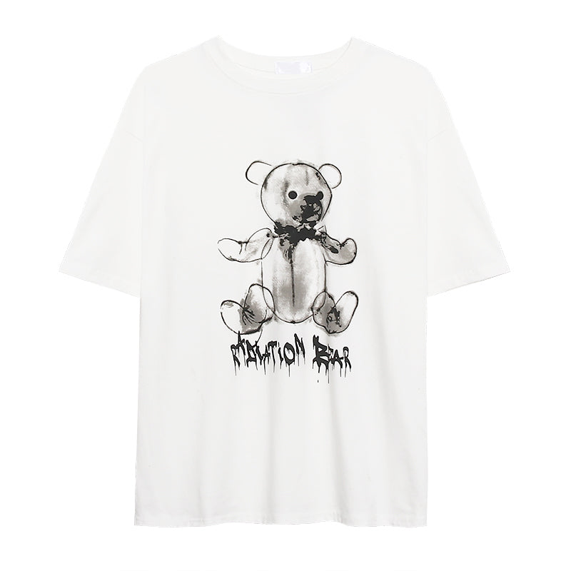 CARTOON BEAR LOOSE T-SHIRT BY22246