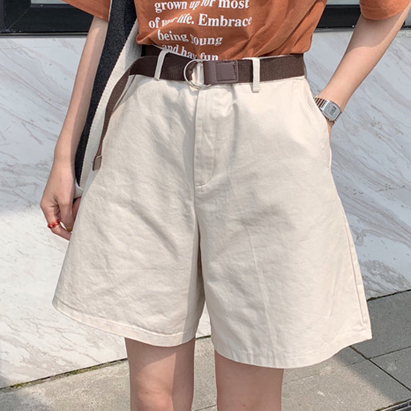 2019 SUMMER NEW KOREAN HIGH WAIST QUINTUPLE SHORTS BY62051