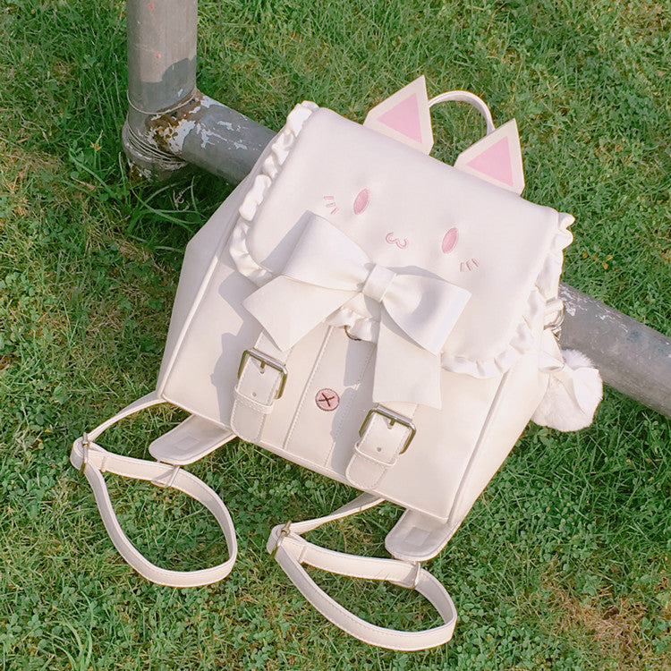 SWEET CAT BOW BACKPACK BY91025