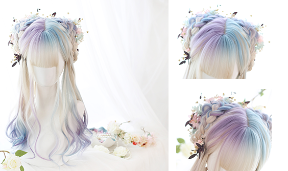 LOLITA MIXTURE LONG CURLS WIG BY31070