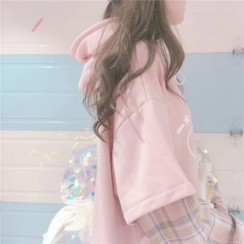 SWEET STITCHING HOODIE BY23185