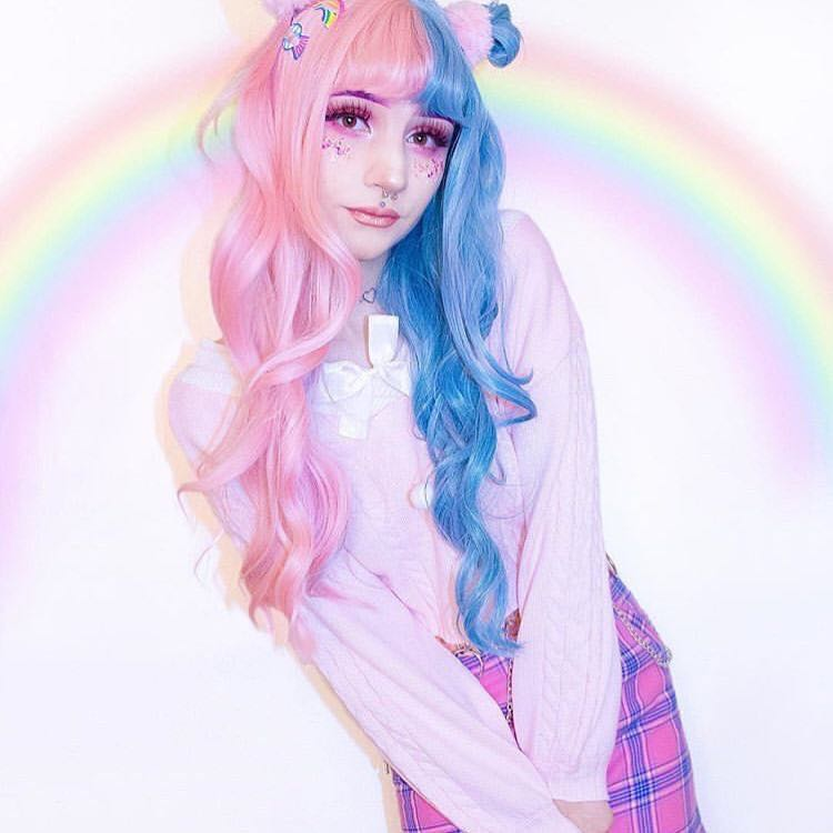 REVIEWS FOR LOLITA BLUE PINK LONG WAVE WIG