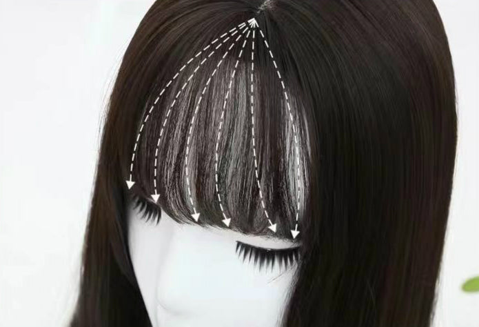 HIME CUT ROUND FACE COS WIG BY31108