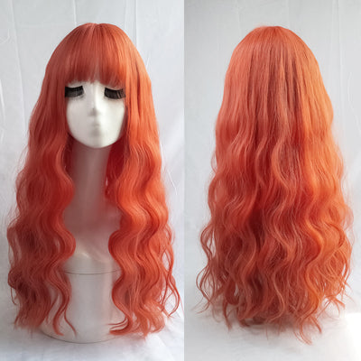 AIR BANGS SLIGHTLY ROLLED LONG WIG BY31092