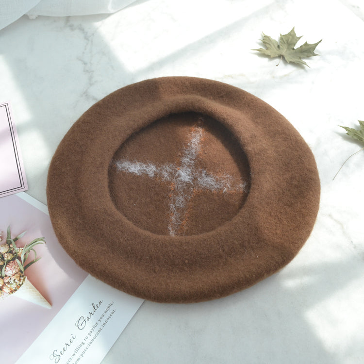 ''A MUSHROOM'' BERET HAT BY51015