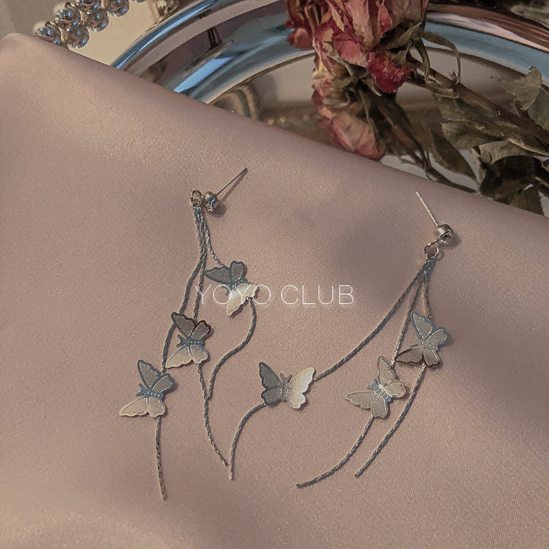 BUTTERFLY TLSSES EARRINGS BY14004