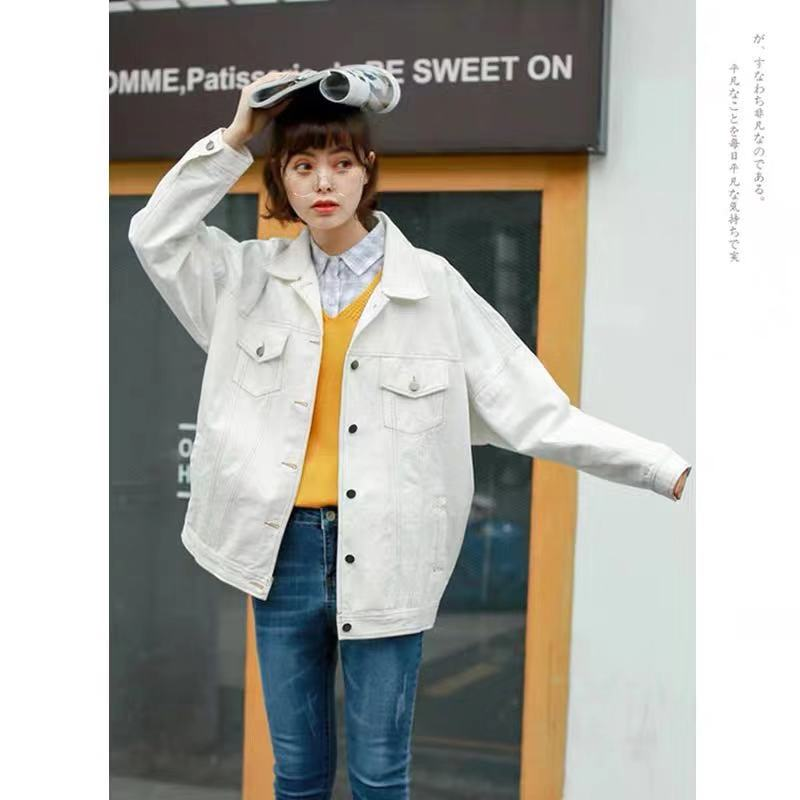 CANDY-COLOR DENIM COAT BY24059